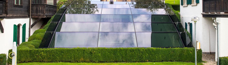 Folienverbund Schweiz Sonnenschutzfolie Glaskuppel 1 Zurichversicherung